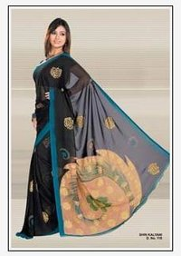 Designer Printed Sarees