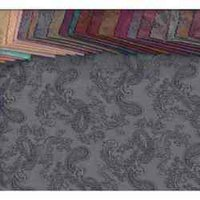 Allover Paisley Jacquard Fabric