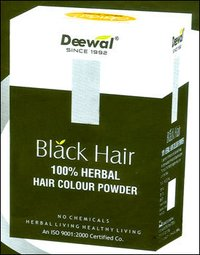 Black Hair Colour Powder