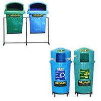 Road Side Twin Litter Bins