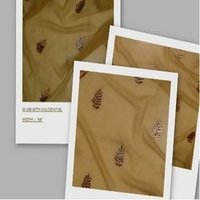 60 Gm With Golden Foil Polyester Fabric