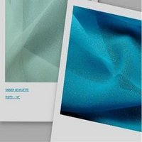 Blue Simmer Georgette Fabric