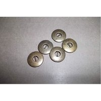 Antique Brass Designer Button