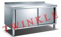 With Sliding Doors and Splashback Bench Cabinet (HWC-612B)