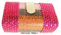 Beaded Hand Made Clutch Bag