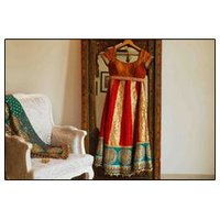 Designer Silk Salwar Kameez