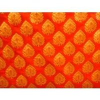 Brocked Silk Fabric