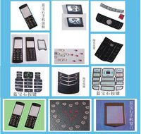 Panel Faceplates of Mobile Phone