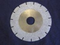 U-Slot Electroplated Diamond Blades With Diamond Coated Side