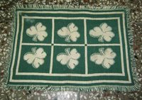 Green Leaf Table Mat