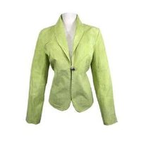 Women Leather Blazers