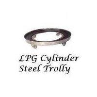 LPG Cylinder Steel Trolley