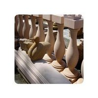 Dholpur Beige Sandstone Balustrade