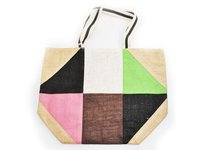 Multi Color Jute Bag