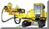 Icm-260 Self Contained Crawler Drill