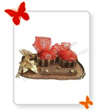 Designer Dryfruit Packing Tray