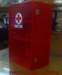 First Aid Box - Acrylic
