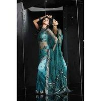 Mind-Blowing Firozi Blue Sarees