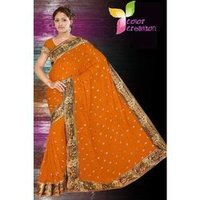 Sequin Embroidered Sarees