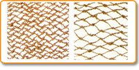 Coir Hand Knotted Netting