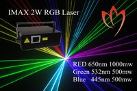 Imax 2w Rgb Animation Laser Light