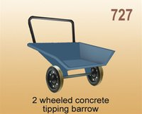 2 Wheeled Concrete Tapping Barrow