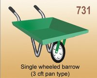 Single Wheeled Barrow