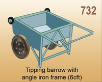 Tapping Barrow With Angle Iron Frame