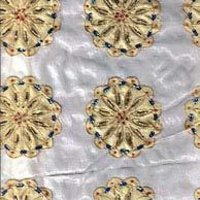 Hand Embroidered Silk Fabrics