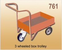 3 Wheeled Box Trolley