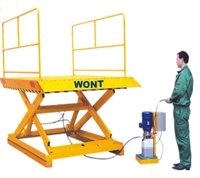 Hydraulic AC/DC Scissor Table