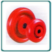 Red Polymer Wheels