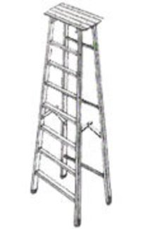 Aluminium Folding Factory Ladder
