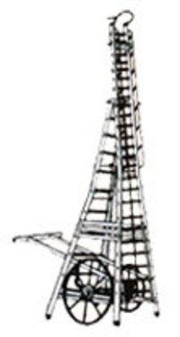 Aluminium Telescopic Tower Ladder