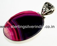 Bostwana Agate Pendants