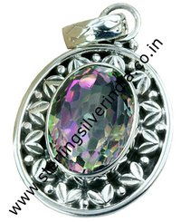 Mystic Topaz Pendants
