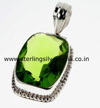 Green Quartz Pendants