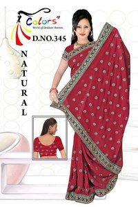 Gorget Butti Saree
