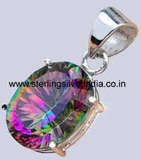 10 Grams Mystic Topaz Pendants