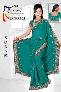 Gorget Heavy C Pallu Saree