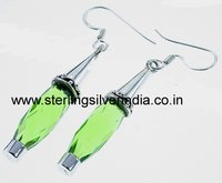 Green Quartz Earring
