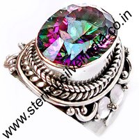 Mystic Topaz Ring