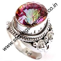 12 Grams Mystic Topaz Ring