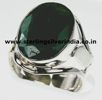 11 Grams Green Emerald Ring
