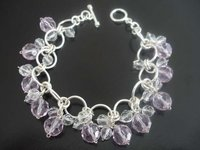 26 Grams Amethyst Bracelet