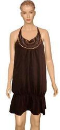 Ladies Designer Halter Dress