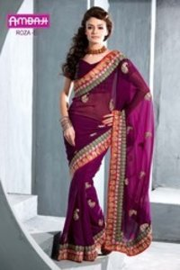 Roza Wedding Sarees