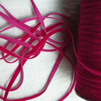 Coloured Velvet Ribbon