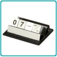 Metal Cube Calendar With Vch