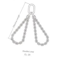 Single And Double Loop G80 Chain Sling